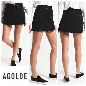 AGOLDE Quinn High Rise Mini Skirt Size 28 NWT